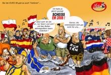Hooligans bei der EURO
