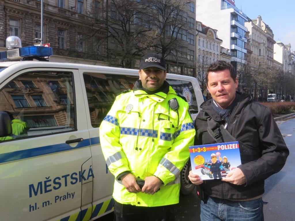 Polizeibilderbuch Prag 2014