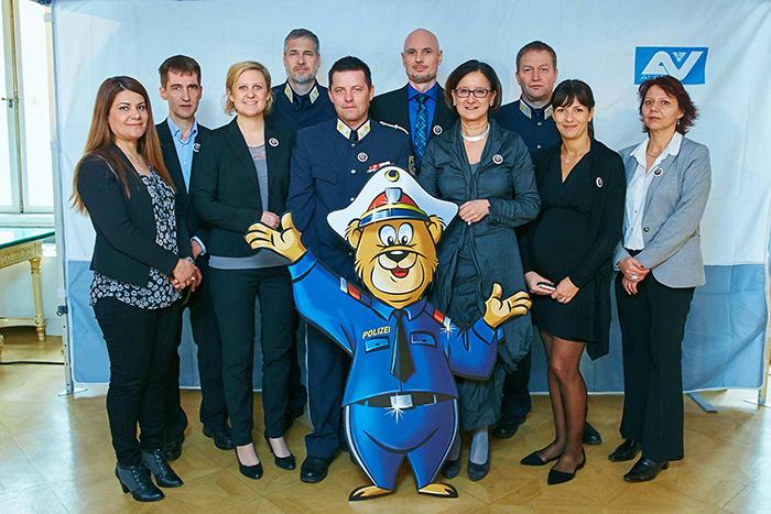 Präsentation Kinderpolizei im BMI am 27.03.2015