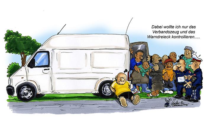 Verkehrskontrolle 2015